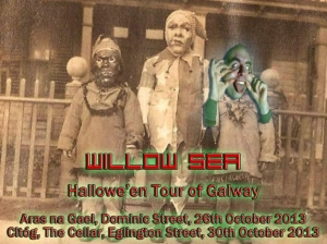 Halloween gigs merged for Willow Sea